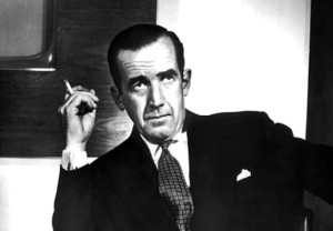 Though how many housewives bought the book just for the picture of a very foxy-looking Edward R. Murrow on the inside cover -- we'll never know