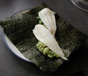 nori guacamole fish