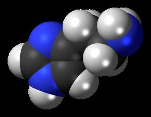 Histamine molecule