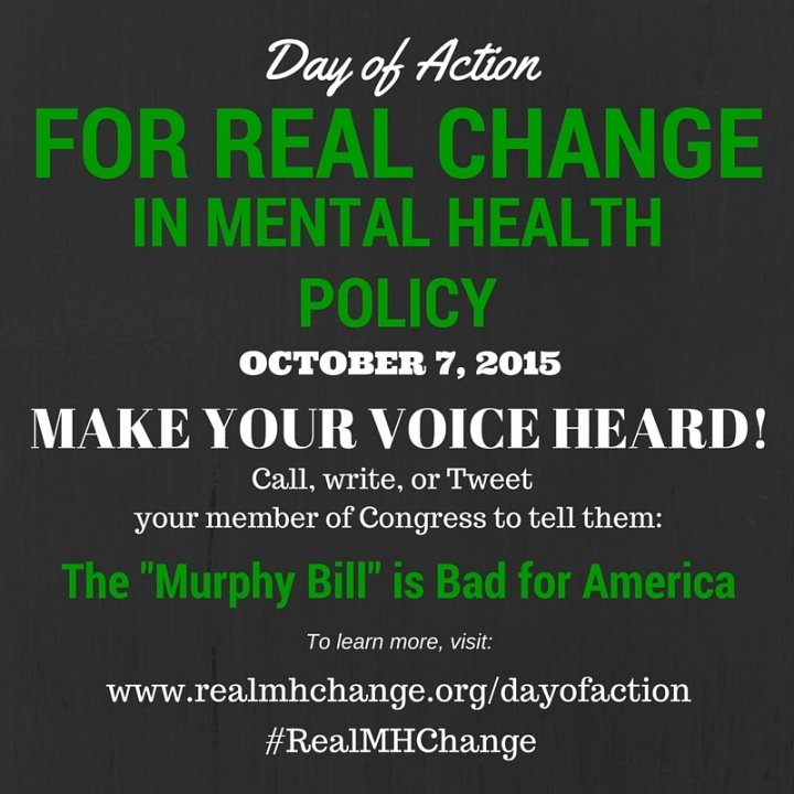 Campaign For Real Change In Mental Health Policy Today Day Of
