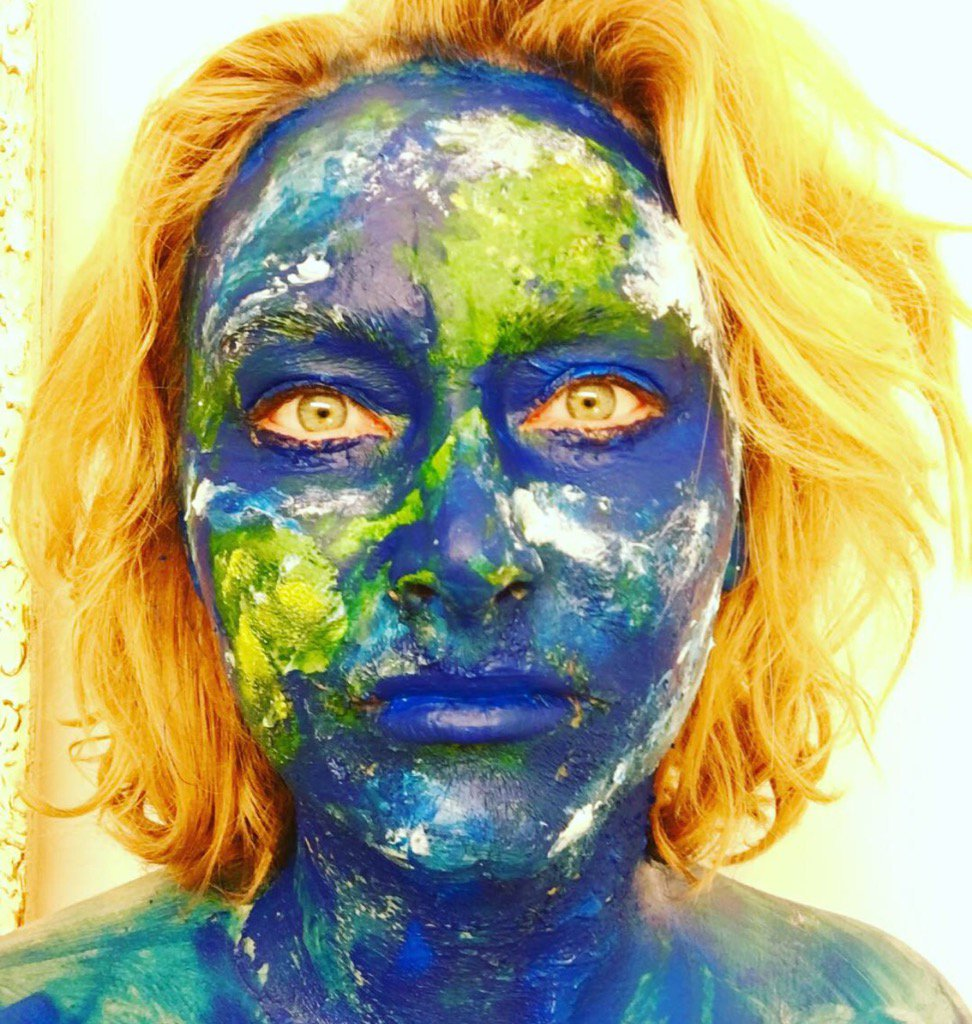 Art Show Therapeutic Face Body Painting For Ptsd By The Gifted Katya Wild